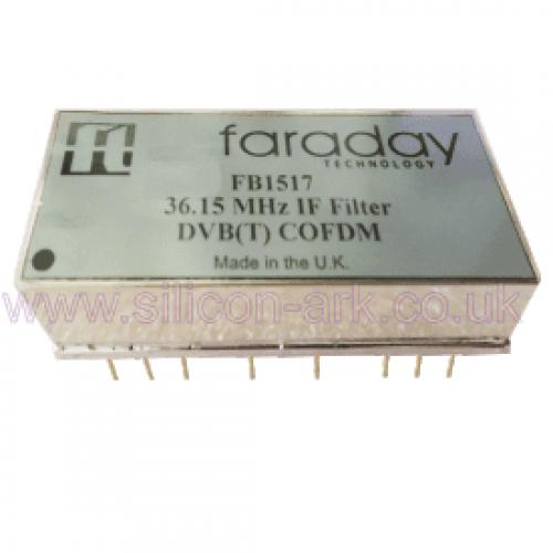 FMB1517  36.15 MHz DVB(T)  IF filter - Faraday Technologies