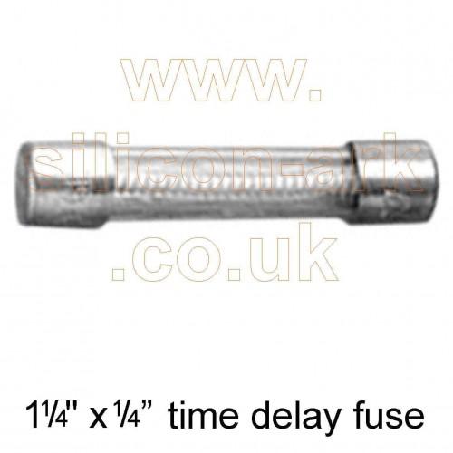 250 mA time delay fuse (MDL1/4-R) - Cooper Bussman
