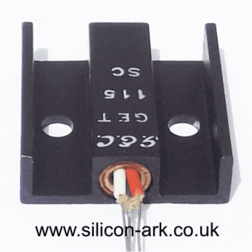GET115 PNP Germanium transistor - G.E.C.