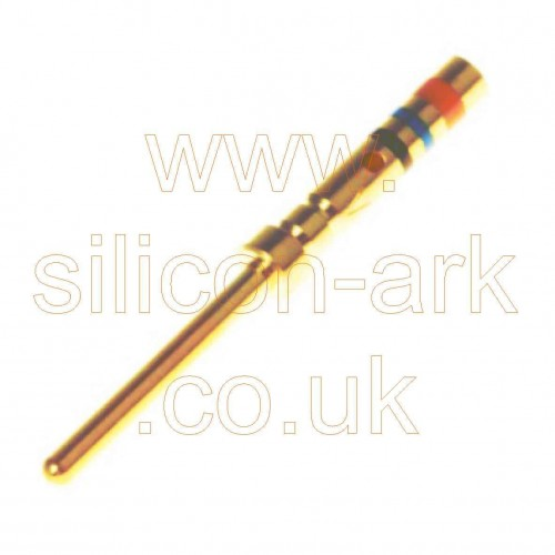 Amplimite 90 male crimp pin size 22 (204370-2) - TE Connectivity