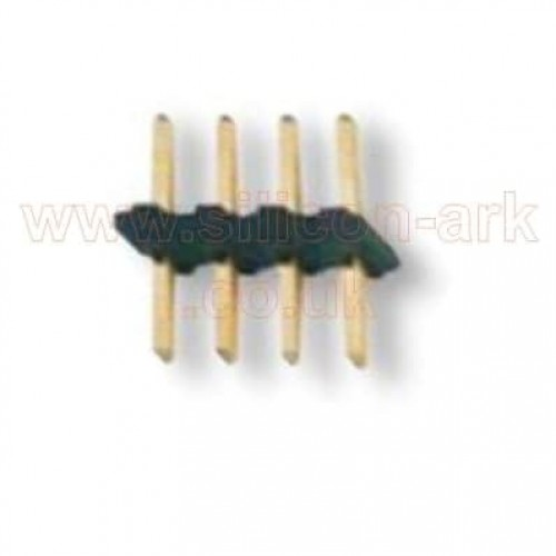 Header Strip 4-way SIL Wire-To-Board 2mm   (M22-2010405) - Harwin