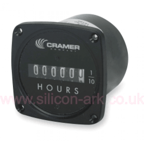 635Y  220v non-resettable Hours Meter - Cramer