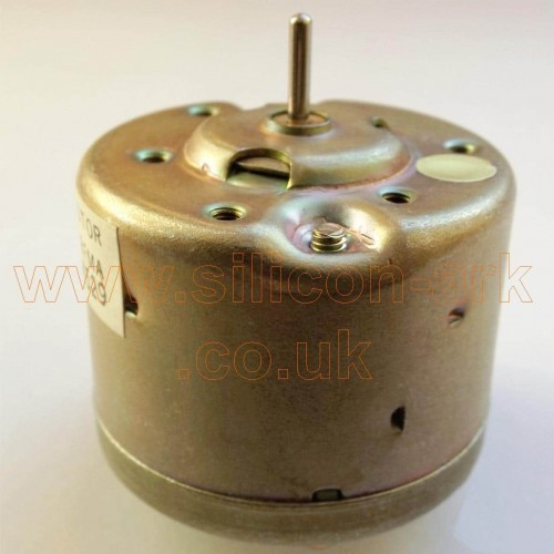 9 Volt DC casssette motor for models
