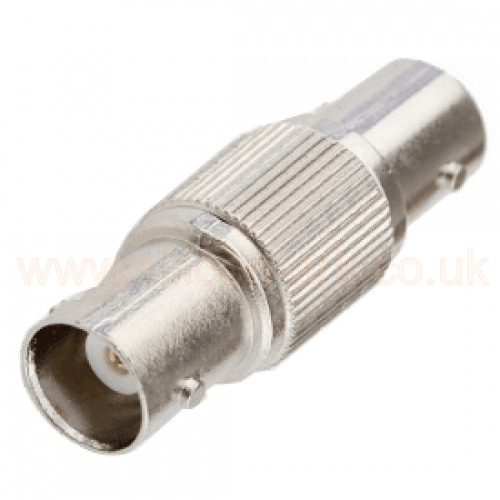 BNC  straight adaptor jack to jack (455-977) - RS Components