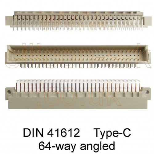 DIN 41612 Type-C  64-Way Connector
