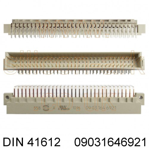 DIN 41612 Type-C Connector  (09031646921) - Harting