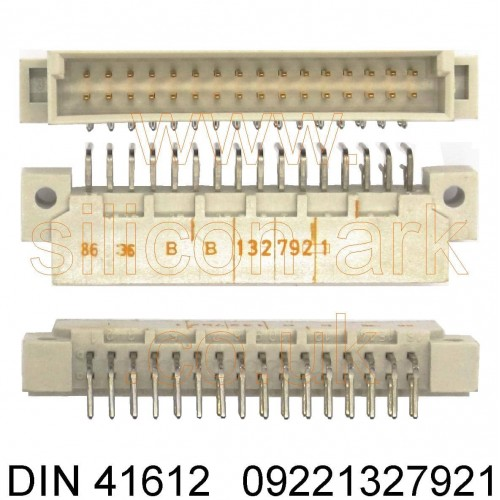 DIN 41612 Type-2B Connector  (09221327921) - Harting