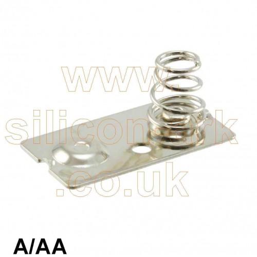 AA / A Battery contact (5212) - keystone