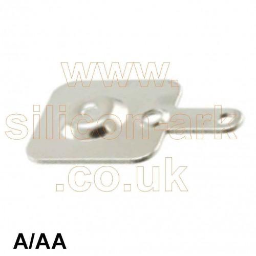 AA / A Battery contact (5223) - keystone