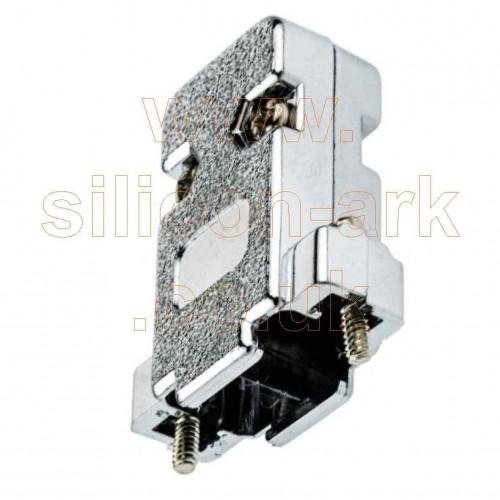 Backshell for 9-way D-Sub connectors (MHCCOV-9-SC-MP) - MH Connectors