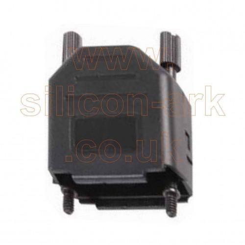 Backshell for 9-way D-Sub connectors (MHDPPK9-K) - MH Connectors