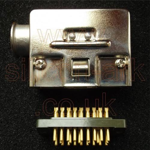 14 pin plug assembly (531-010-1) - Racal-Decca