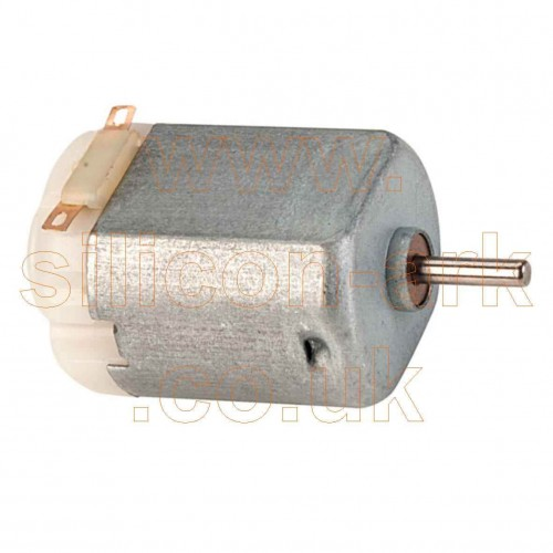 1.5-3 Volt miniature motor (37-0140) - Rapid Electronics