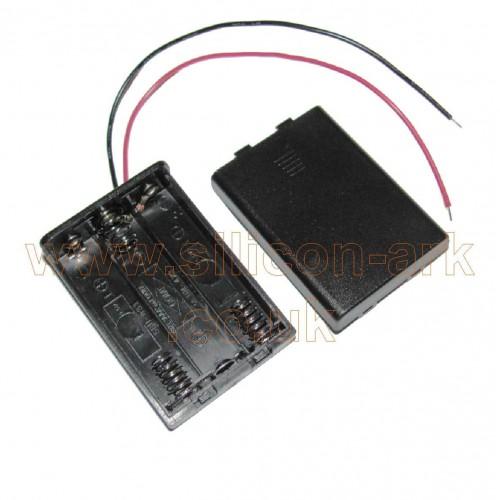 AA battery Holder (triple) 2487 - Keystone