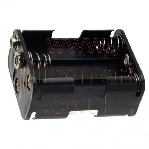 AA ( x6) Battery holder (BH-363-1B) - Trupower