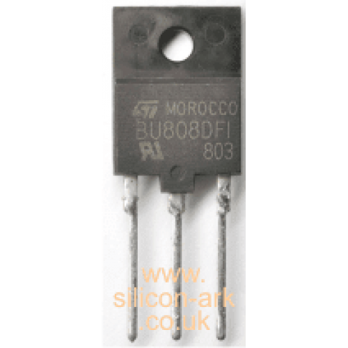 BUH517 silicon NPN high voltage transistor - STMicroelectronics