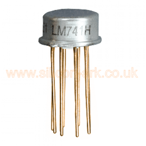 741 (LM741H)  Op-Amp - National Semiconductor