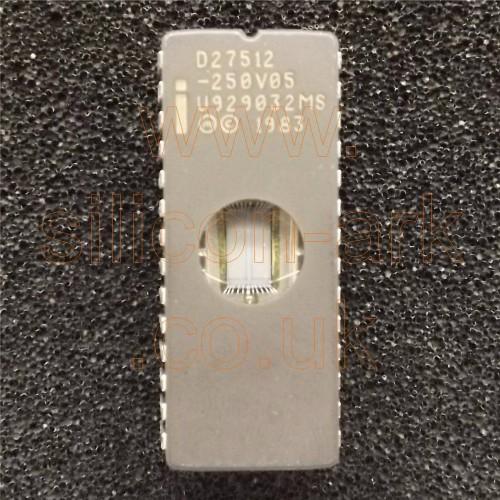 D27512-250  512K (64Kx8-Bit) UV EPROM - Intel