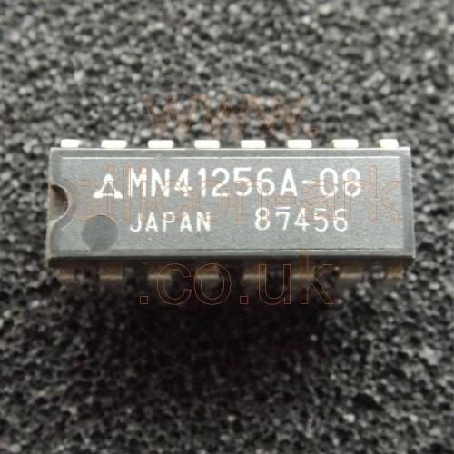 41256 (MN41256A-08) 256K x 1 DRAM - Matsushita