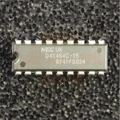 41464-15 (uPD41464C-15) 256K (64k x 4) DRAM - NEC