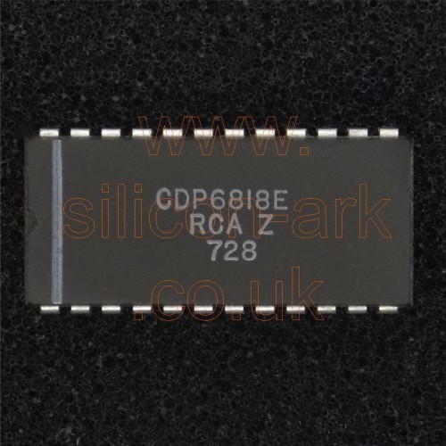 CDP6818E  real time clock (RTC) - RCA