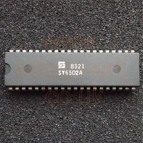 6502A (SY6502A)  2MHz CPU - Synertek