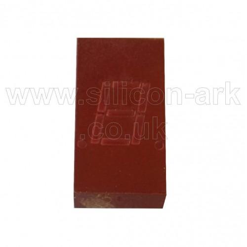 5082-7613 7.6mm red seven segment LED display - Hewlett Packard