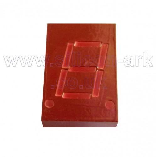5082-7653 10.9mm red seven segment LED display - Hewlett Packard