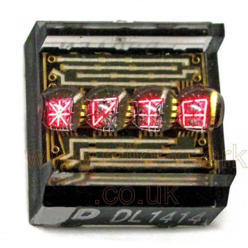 """DL1414T  .112"""" red intelligent 4 digit display - Litronix"""