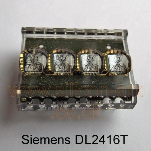 """DL2416T  .160"""" red intelligent 4 digit display - Siemens"""
