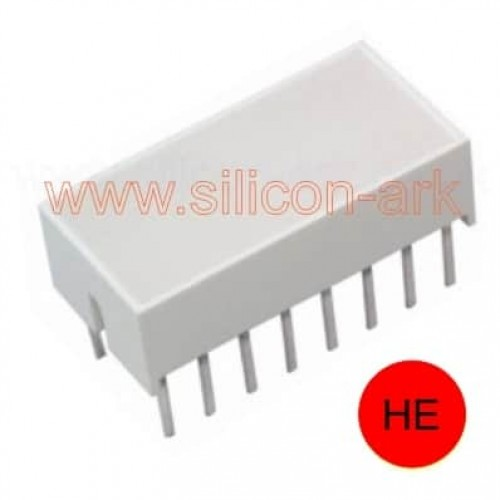 HLMP-2685  HE Red LED lightbar - QT Optoelectronics