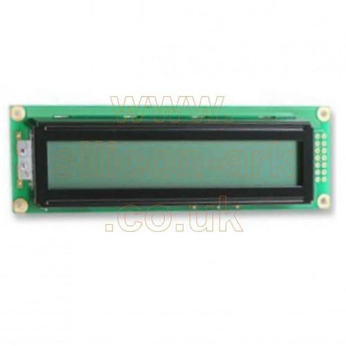24 x 2 line alphnumeric LCD display (pc2402lrs-awa-b-q) - Powertip