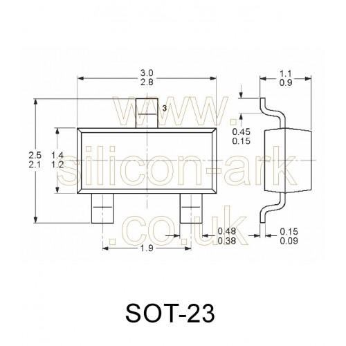 BCW71 silicon NPN transistor - Philips