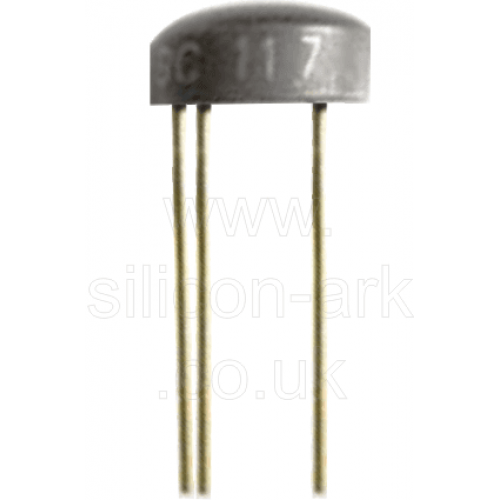 BC117 silicon NPN transistor - RS Components