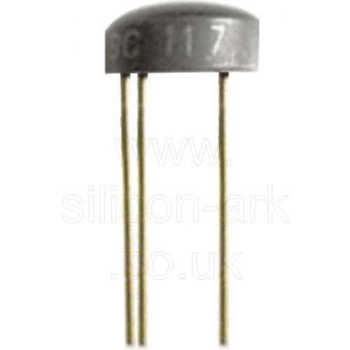 BC117 silicon NPN transistor - Micro Electronics