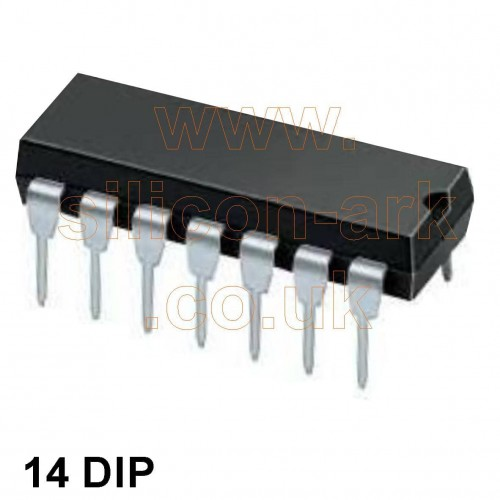 4001 (MC14001BCP) quad 2-input NOR gate - Motorola