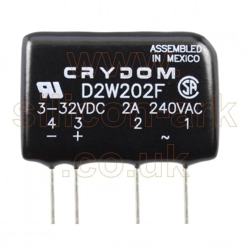 D2W202F solid state relay - Crydom