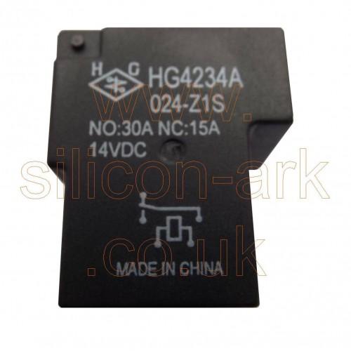 24 Volt SPDT NC relay (HG4234A 024-Z1S) - HG