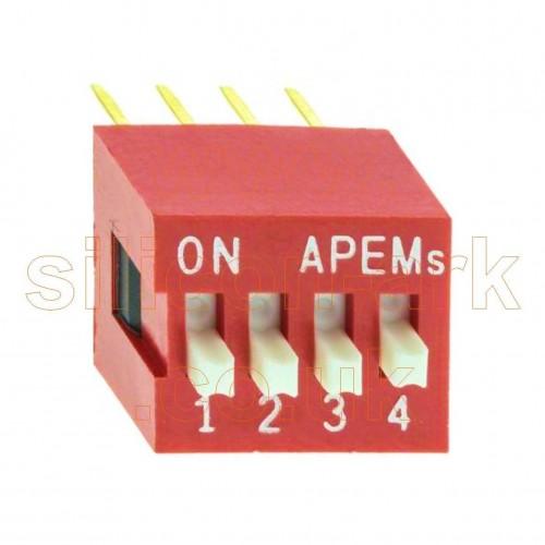 DS04V 4-way dispswitch - Apem